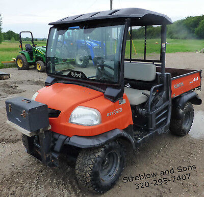 2007 Kubota RTV900 Diesel Hydrostatic 4x4 Utility Vehicle