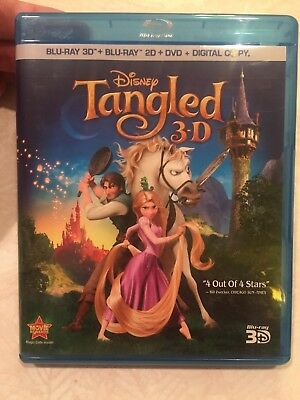 Tangled Disney 3D Blu-Ray Disc Only - Authentic