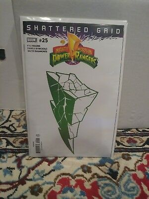 Mighty Morphin Power Rangers issue number 25 Shattered Grid second printing