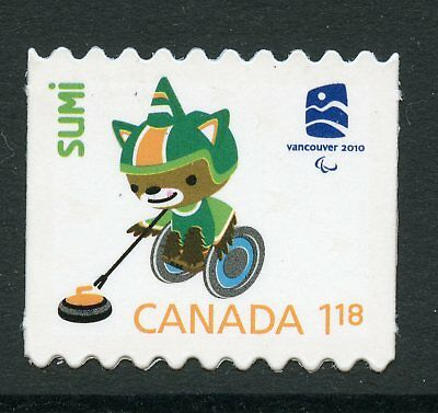 Weeda Canada 2312i VF NH Die cut Olympics 'Sumi' single, from Annual Collection
