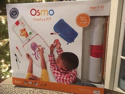 Osmo Starter Set & Creative Kit with Monster Game (iPad base included) New
