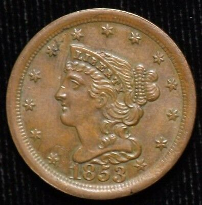 1853 United States Half Cent  Uncirculated