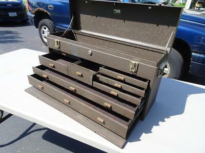 Kennedy Machinist Tool Box #526 8 Drawer.