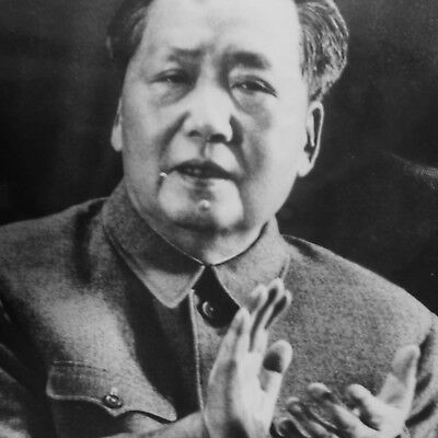 MAO TSE TUNG - Robert COHEN pour Agip - Photo de presse