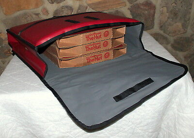 Carry Transport PIZZA Thermal Insulated Hot Delivery Bag Jacket, NICE, No Res.