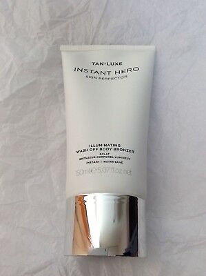 Tan- Luxe Instant Hero  Illuminating wash off Body BRONZER 150 ML NEW