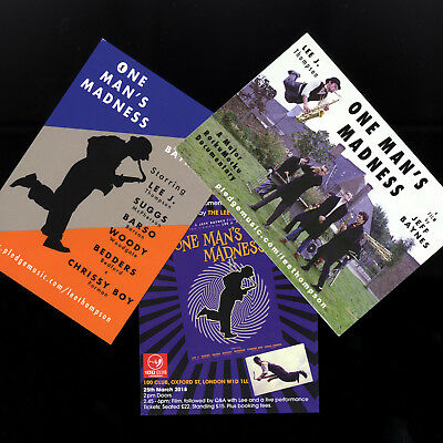 LEE THOMPSON - ONE MAN'S MADNESS - LOBBY CARDS - Two 2 Tone Ska Stiff not CD LP