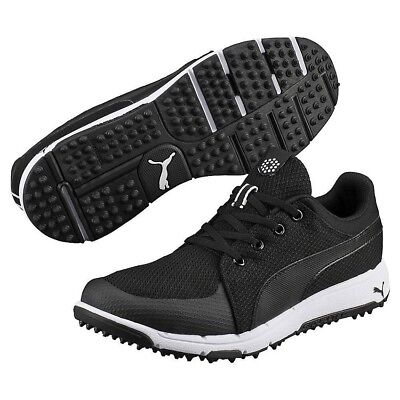 eda0198bca7f Puma Golf Grip Sport Tech Spikeless Golf Shoes - Size Men s 8.5-Black White