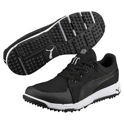 e41a067707436 Puma Golf Grip Sport Tech Spikeless Golf Shoes - Size Men s 8.5-Black White