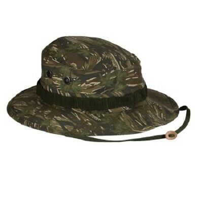 Nwt Mil-Spec Military Smokey Treebranch Hot Weather Type Ii Camo Boonie Hat Cap