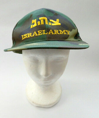IDF Zahal Israel Army Color Military Camouflage  Adjustable Hat Cap + Gift