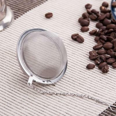 4.5cm Stainless Steel Strainer Tea Leaf Coffee Filter Spoon Spice Ball