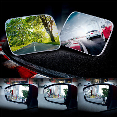 Car Rearview Mirror Mirrors Square Adjustable Blind Spot Mirror External