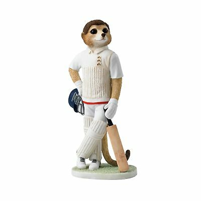 Magnificent Meerkats Waiting To Bat Figurine