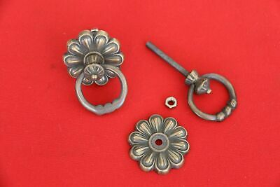 New BRASS Flower / Ring Pull Handle - Furniture Accessories - Brass Handle