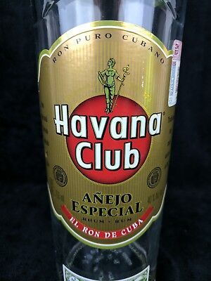 Havana Club Anejo Especial 70cl 750ml Empty Bottle