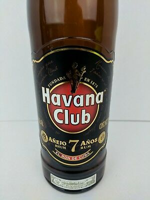 Havana Club Anejo 7 Anos 70cl 750ml Empty Bottle