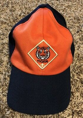 Boys Cub Scouts Bsa Tiger Cub Uniform Baseball Style Hat