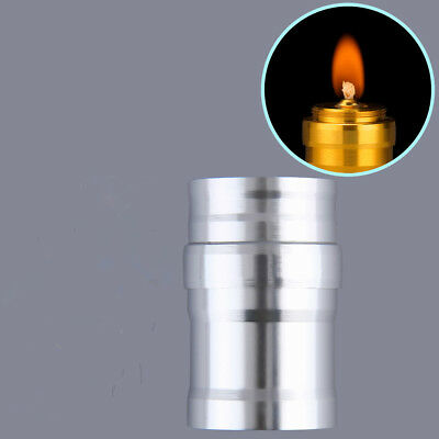 Portable Mini 10ml Alcohol Burner Lamp Aluminum Case Lab Equipment Heating DG
