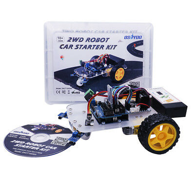 USA 2WD Robot Car Stater Kit for Arduino DIY Learning with Tutorial Arduino