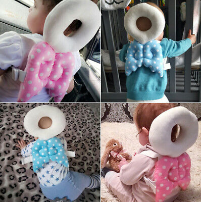 Baby  Infant Toddler Head Back Protector Safety Pad Harness Headgear Protector