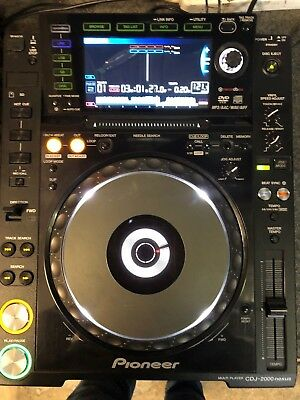 Pioneer CDJ 2000 Nexus CD player x 1 Used in good working order and condition
