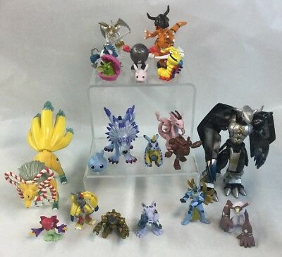 Bandai Digimon Figures Lot Of 21 From 1999 To 2002 Pokémon RARE clean NICE