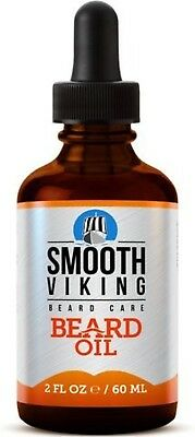 Smooth Viking Beard Oil For Men Use With Balm And Conditioner For The Best