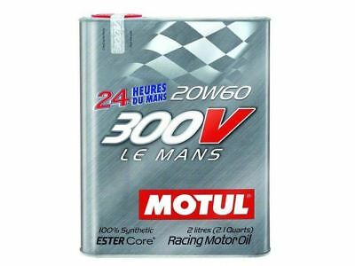 Motul 300V 20W60 LE MANS 2L 21 qt Synthetic Oil