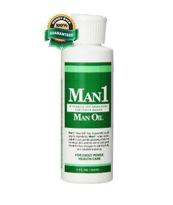 Man1 Man Oil Natural Penile Health Creme-Global Shipping to UK, EU, AU and more