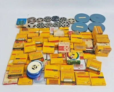 Lot Of 75 plus - 3 inch 8 mm Reels VINTAGE 1960's/70's Family Home Movies REELS