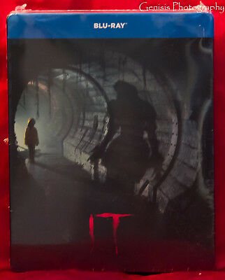 It (Blu-ray, Limited Edition SteelBook) Region Free Import NEW