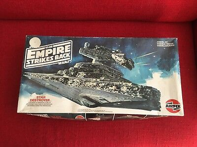 Star Wars Empire Strikes Back Star Destroyer Model Kit AIRFIX