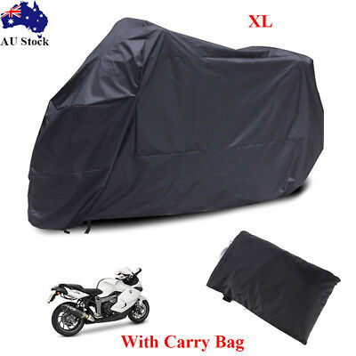 XL Large Outdoor Waterproof Motorcycle Motorbike Cruiser Scooter Dust Rain Cover