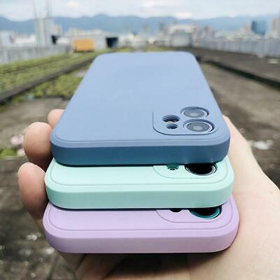 Thin Matte Soft Silicone Shockproof TPU Back Case Cover For iPhone X 8 7 6s Plus