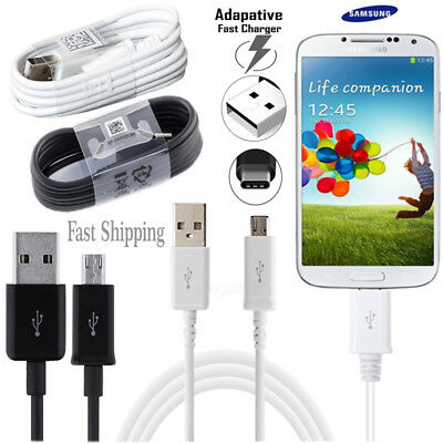 Fits Samsung Galaxy S9 S8 S7 Plus A5 A3 2017 Fast Charger USB Data Cable Lead