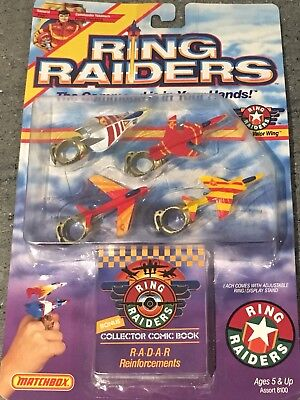 Vintage Ring Raiders Matchbox 1988 MOC Valour Squadron