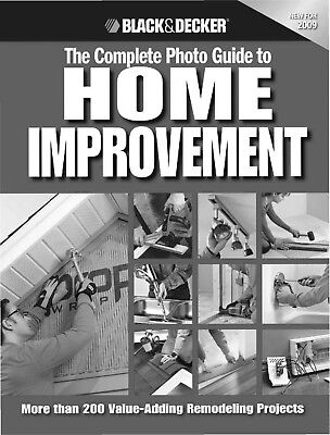 ($.71 cents Book) 14 Construction Books by BLACK & DECKER-Vol. B Several Topics