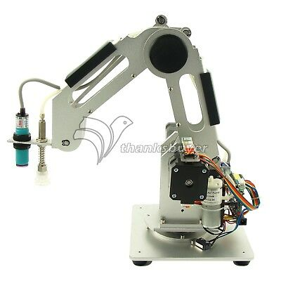 Mechanical Robot Arm 3 Axis Desktop Production Line Carry Aluminum Alloy 6061
