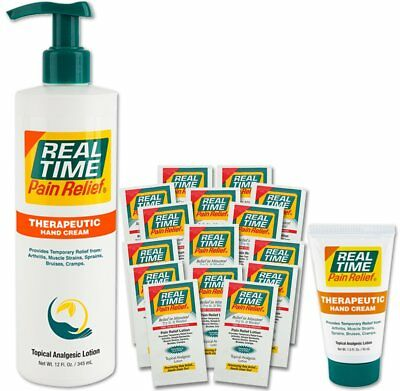 Real Time Pain Relief Hand Cream Convenience Pack