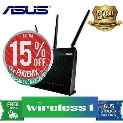 Asus RT-AC68U Wireless AC1900 Router Bonus Wireless Headset