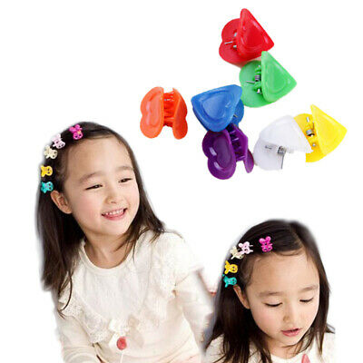 30Pcs New Fashion Mixed colors Plastic Hair Clip 9 Style Baby Women Girls Clamp
