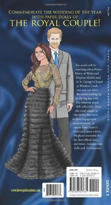 Collectible Harry and Meghan Paper Dolls Royal Couple