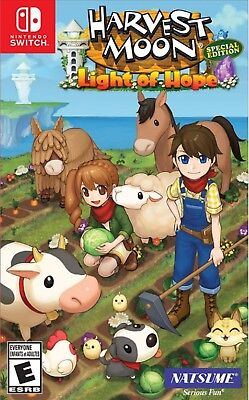 Harvest Moon: Light of Hope Special Edition US Version Nintendo Switch NEW