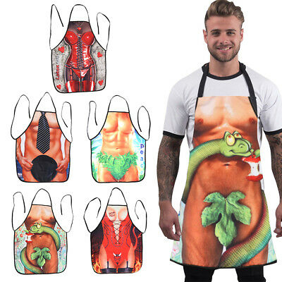 Funny Novelty Aprons Cooking Kitchen BBQ Apron Novelty Gifts for Men & Women UK
