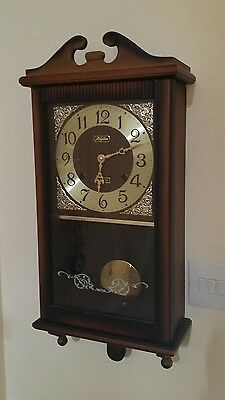 Rhythm 30 day pendulum wall clock