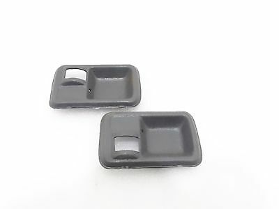 SUZUKI SAMURAI SIERRA DROVER GYPSY INTERIOR DOOR PULL HANDLE SET #G62  @CL