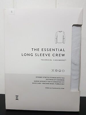 Kit And Ace The essential Long Sleeve crew Top Tee Shirt. Size Small BNWT