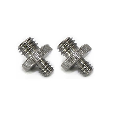 "Smallrig 2Pcs Male to Male 1/4 ""to 3/8"" Threaded Screw Adapter Camera"
