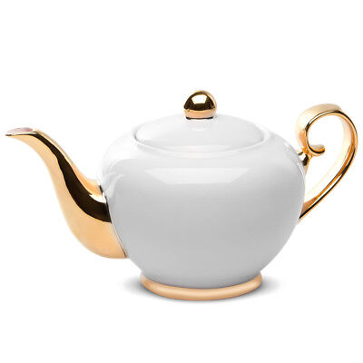 NEW Cristina Re Signature Teapot Ivory & Gold